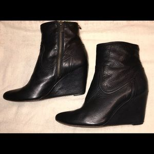 Frye Short Wedge Boot